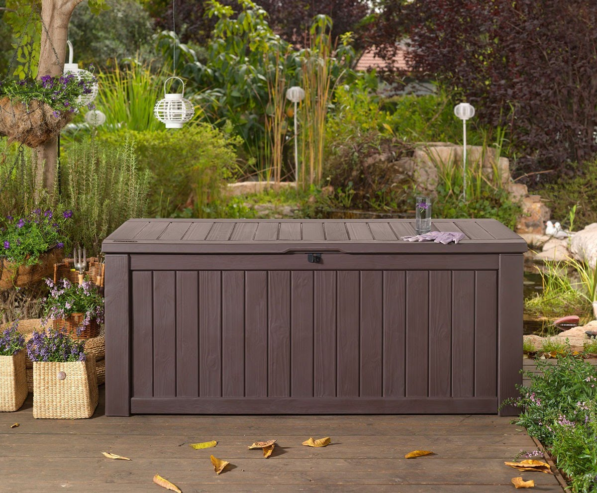 Bench Deck Box Planters
