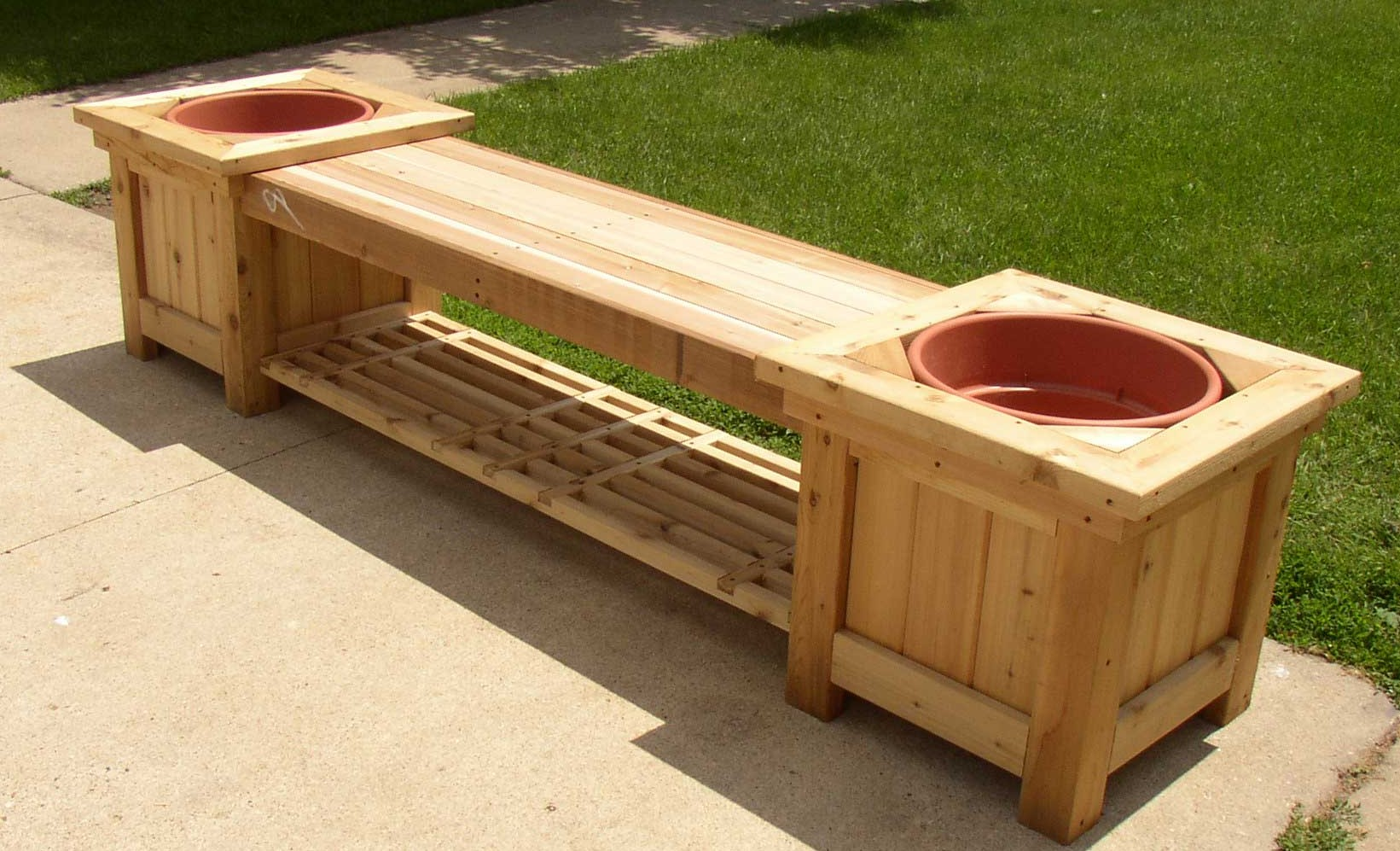 Image of: Bench Deck Box Storage