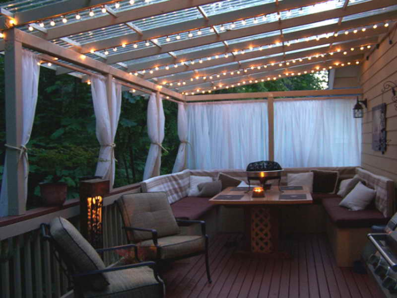 Image of: Best Deck Awning
