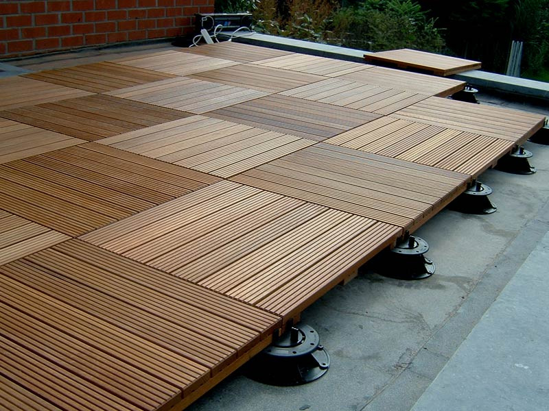 Image of: Best Deck Tile