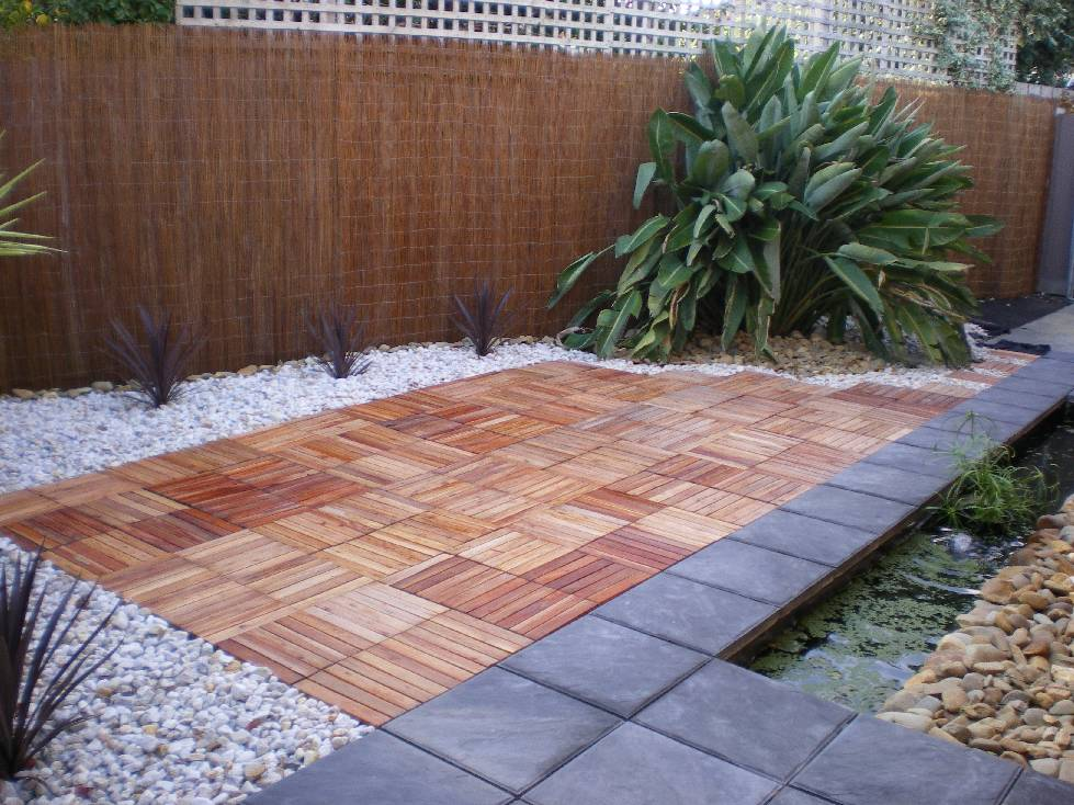 Image of: Best Decking Squares