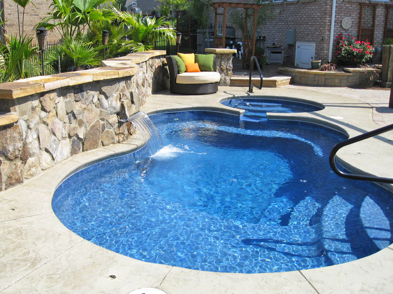 Image of: Best Fiberglass Inground Pools