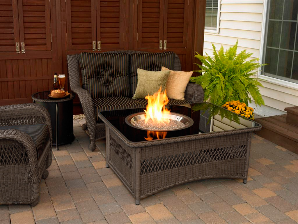 Image of: Best Outdoor Propane Fire Pit