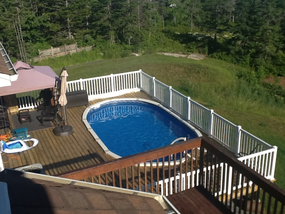 Image of: Best Oval above Ground Pools Ideas