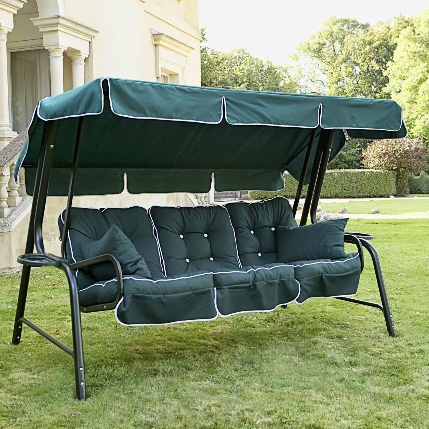 Image of: Best Patio Swing with Canopy