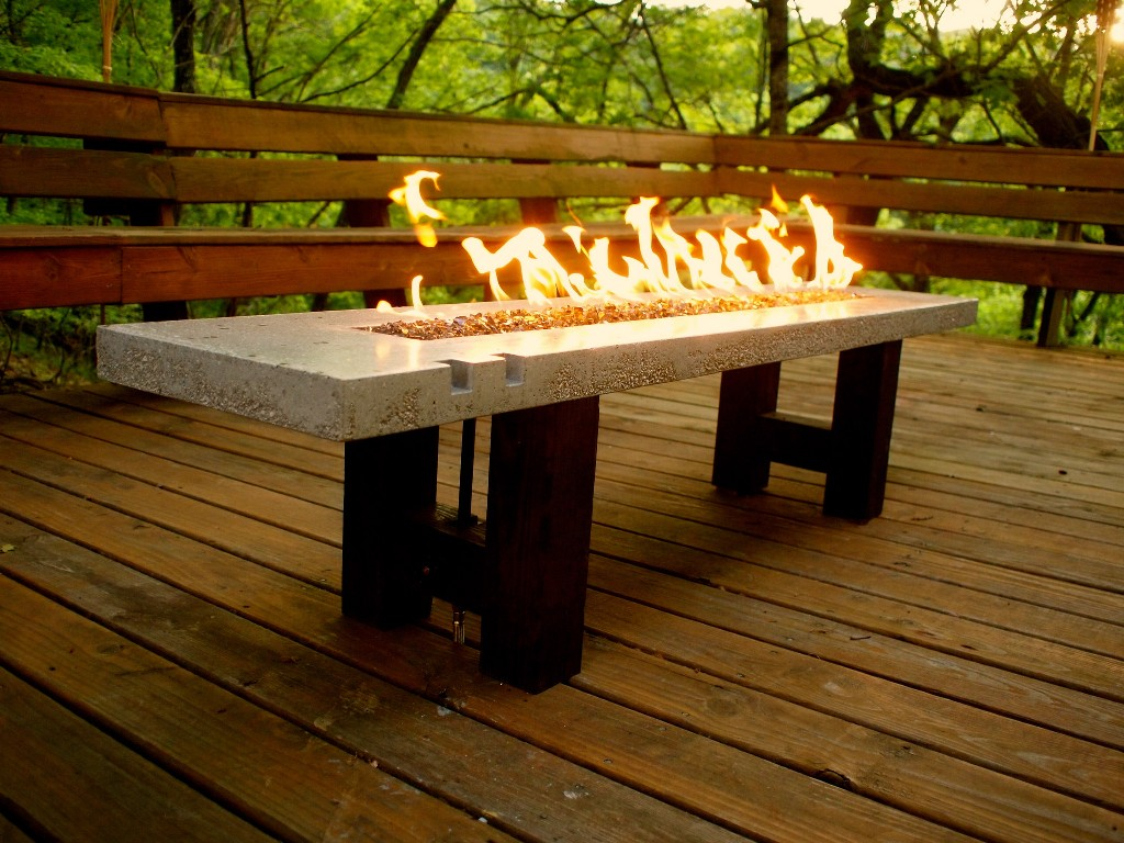 Image of: Best Propane Deck Fire Pit