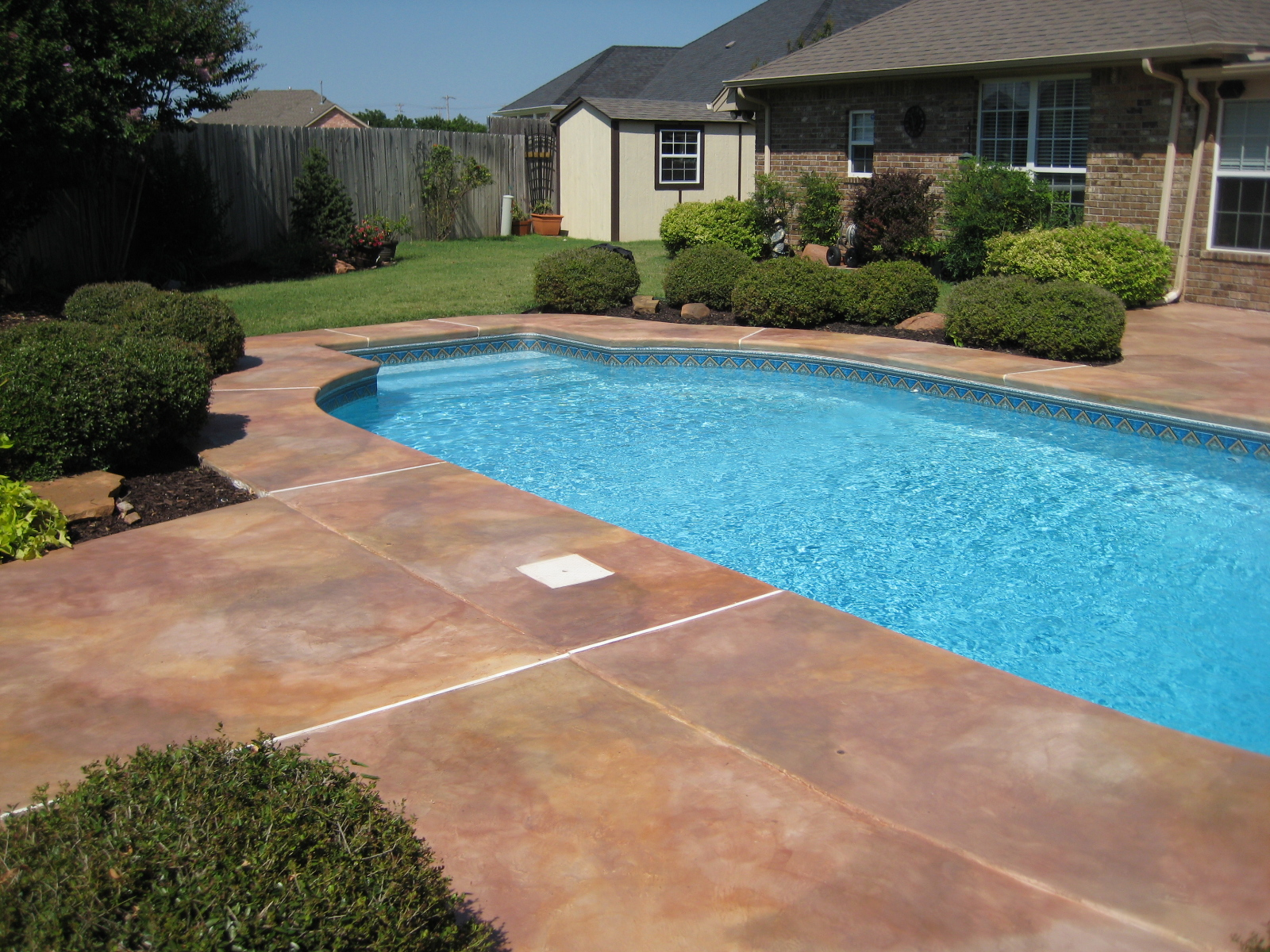 Image of: Best Resurface Pool Deck