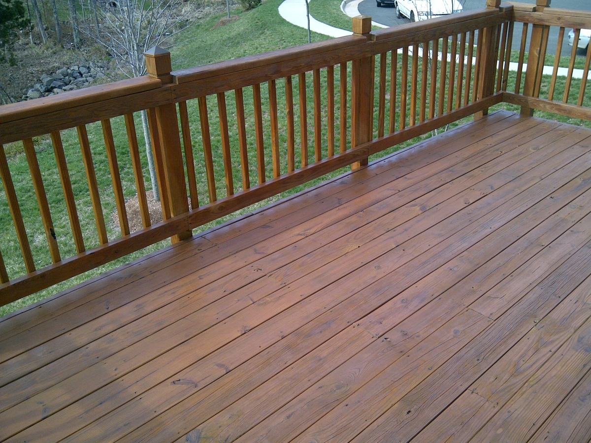 Image of: Best Solid Deck Stain