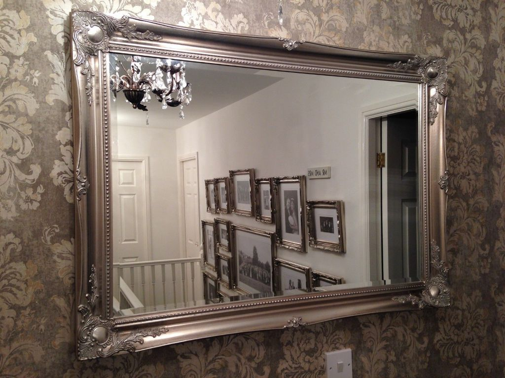 Image of: Big Wall Mirrors Replacement