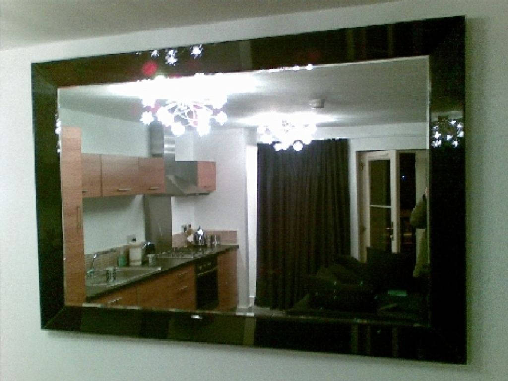 Image of: Big Wall Mirrors and Glass