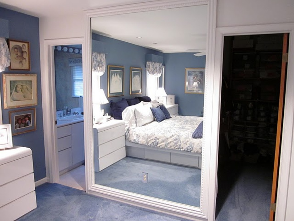 Image of: Big Wall Mirrors and Windows