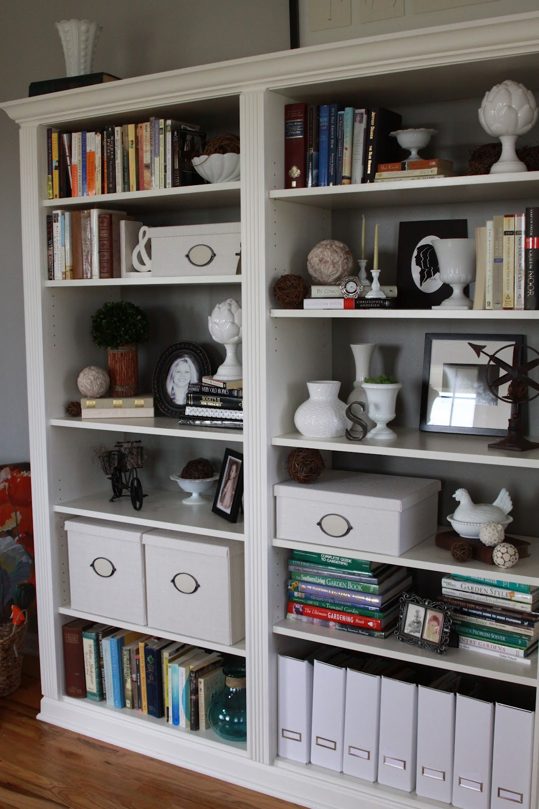 Image of: Billy Bookcase Designs