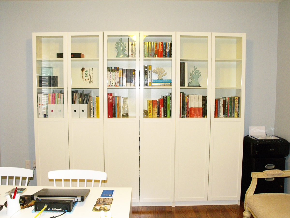 Image of: Billy Bookcase Door