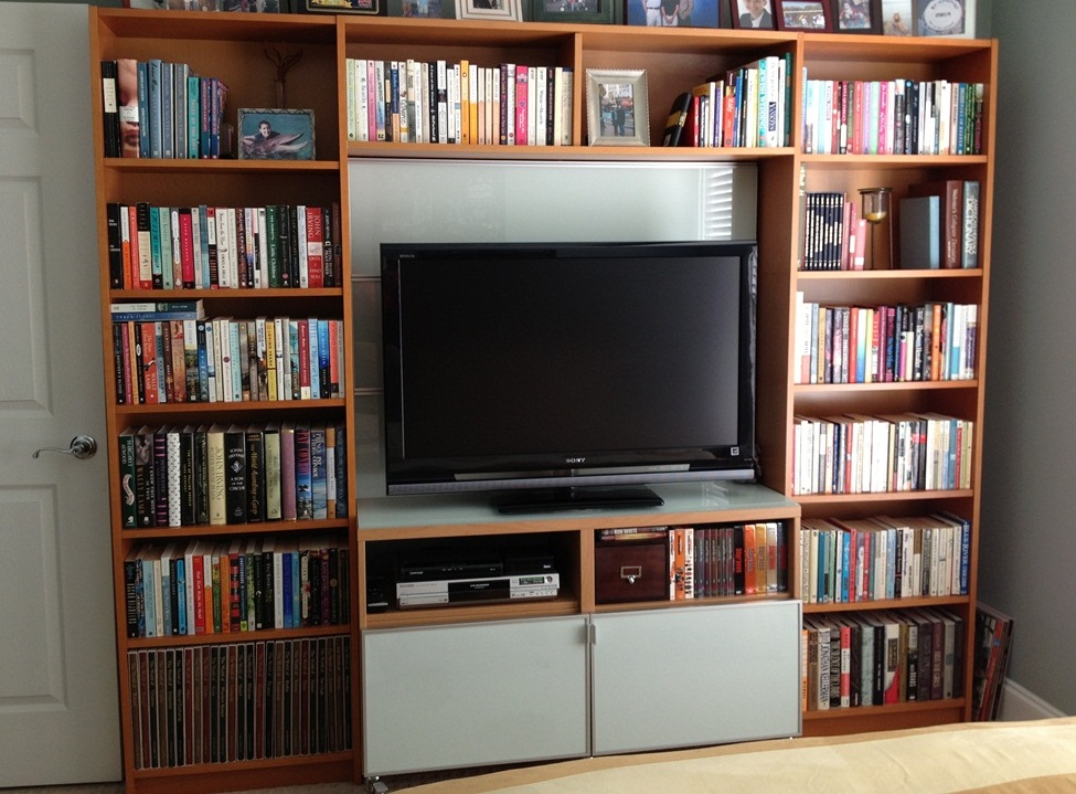 Image of: Billy Bookcase Entertainment