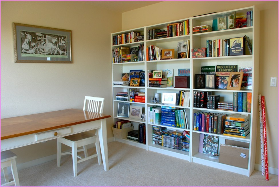 Image of: Billy Bookcase Wall