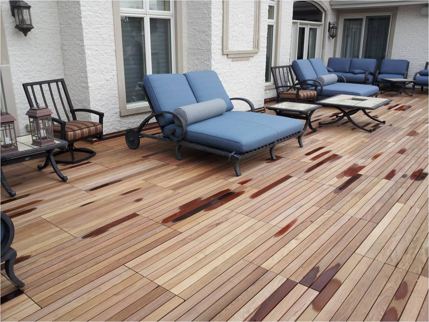 Image of: Bison Deck Supports Concrete