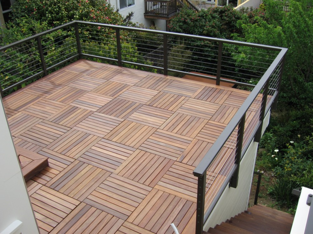 Image of: Bison Deck Supports For Decking