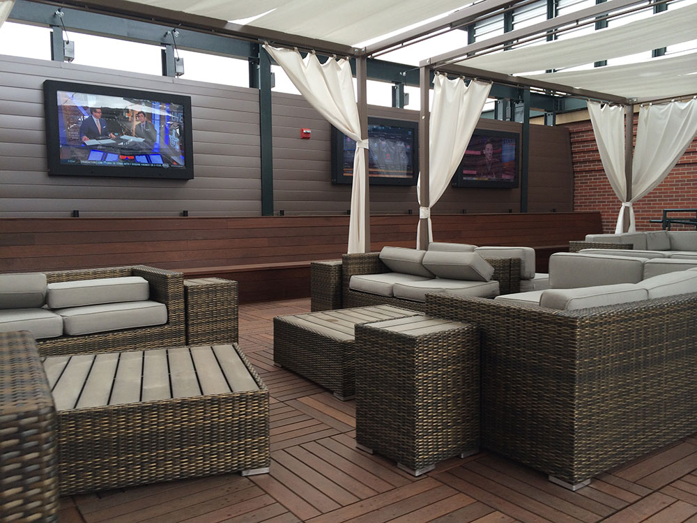 Image of: Bison Deck Supports Piers