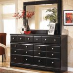 Black Dresser With Mirror Bedroom