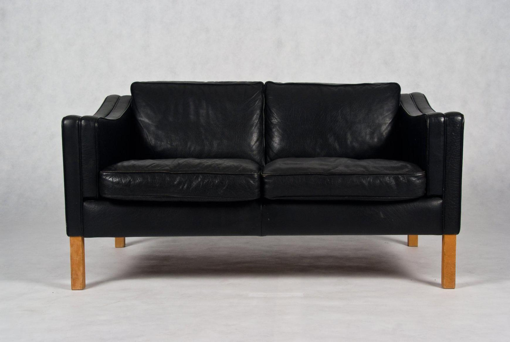 Image of: Black Loveseat Cover