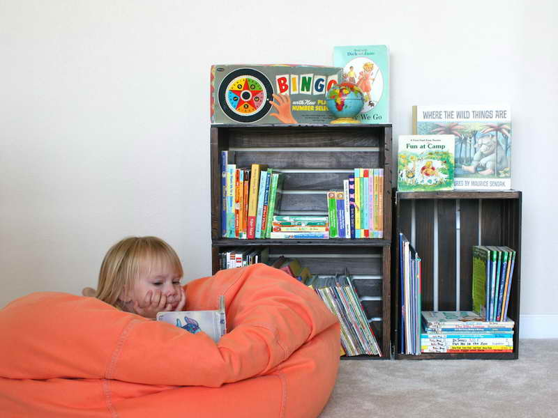 Bookcase Design Ideas Corner