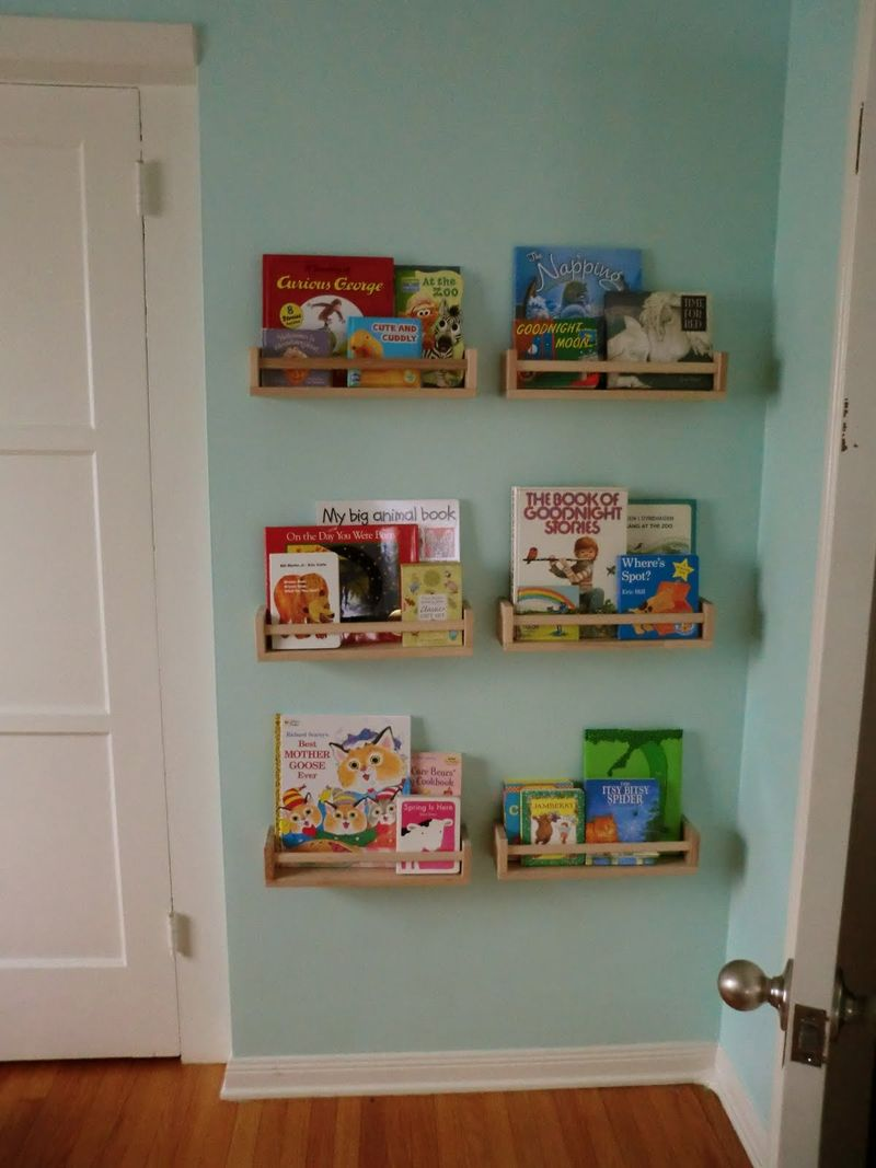 Image of: Bookcase Design Ideas Wall