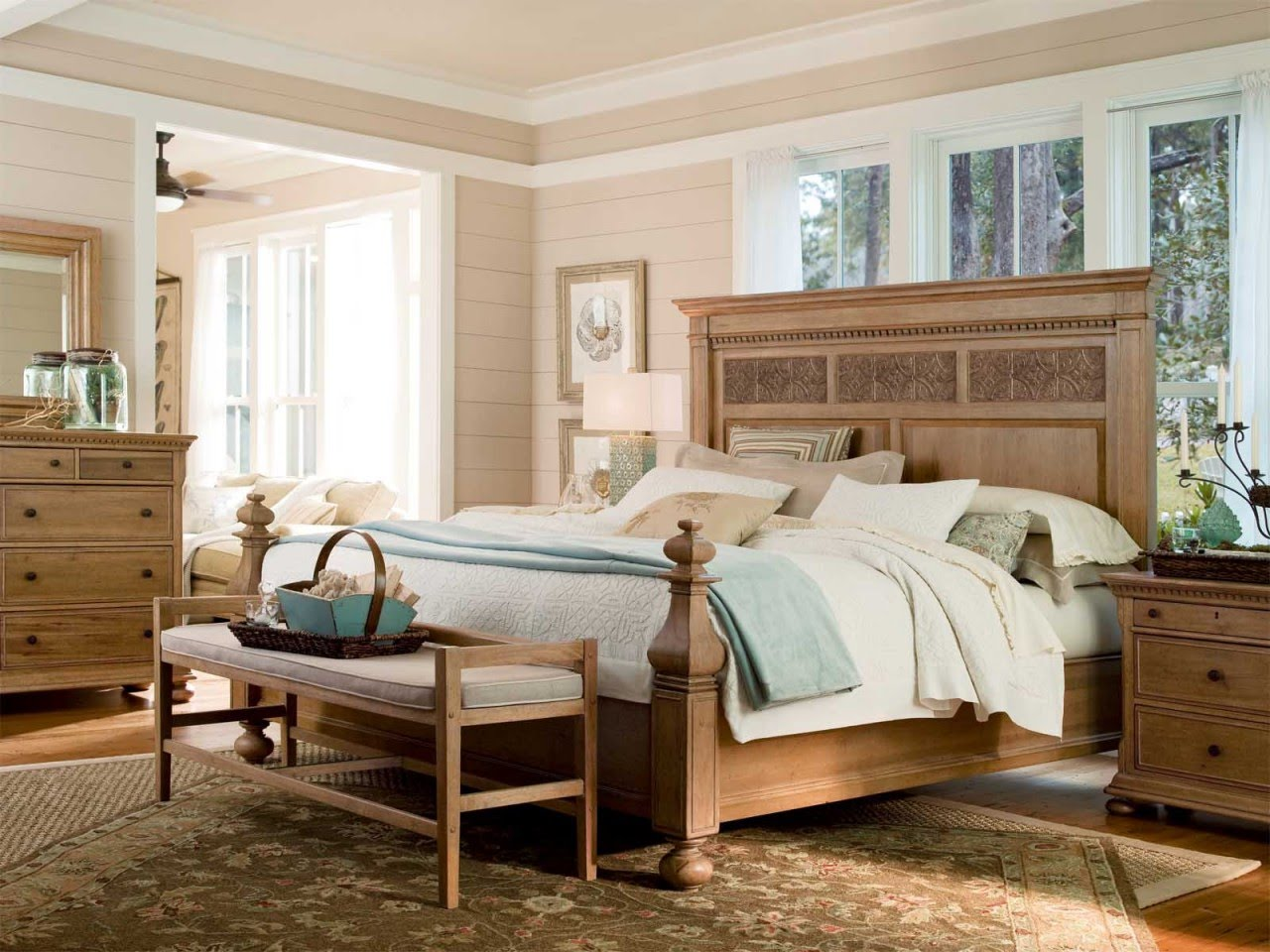 Image of: Bookcase Headboard King   brown