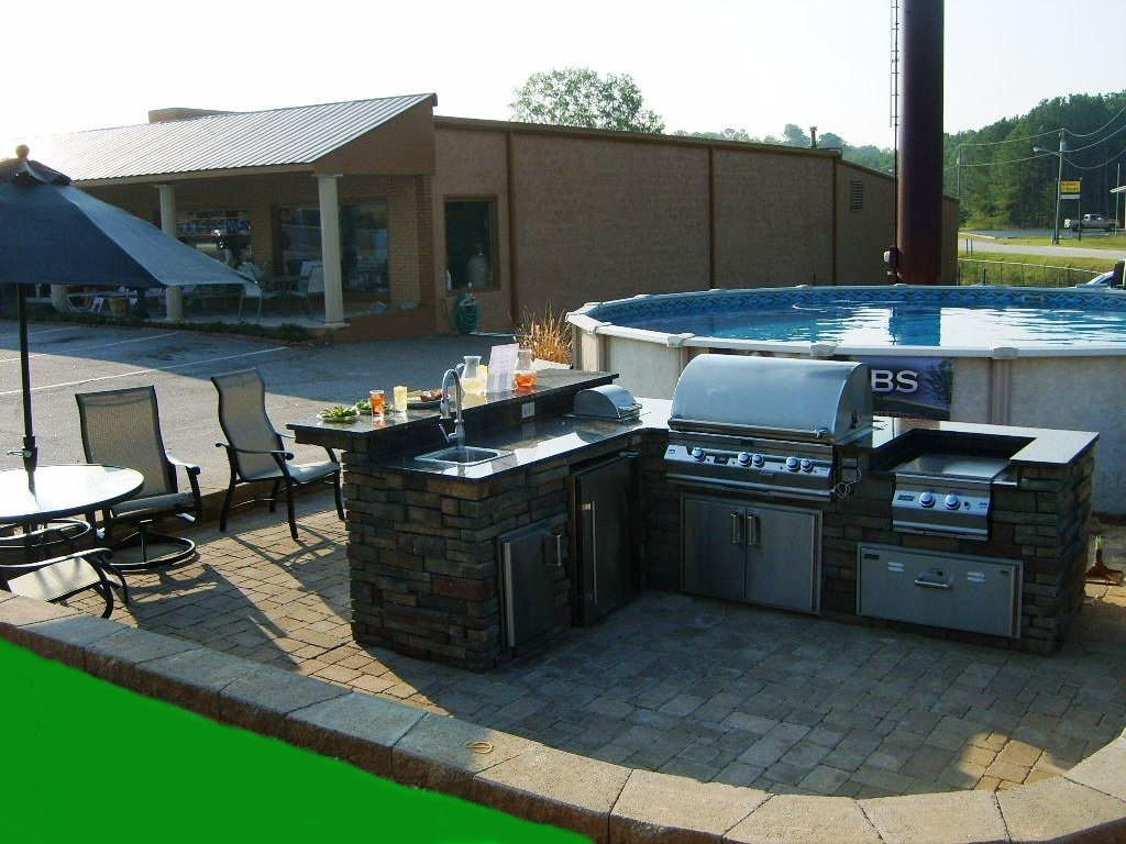 Image of: Build Outdoor Griddle
