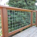 Build Wire Mesh Deck Railing