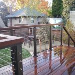 Cable Deck Railing Design Ideas