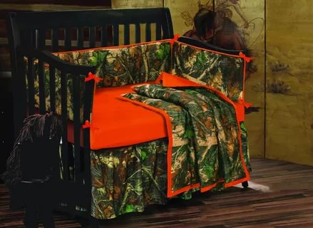 Image of: Camouflage bedding