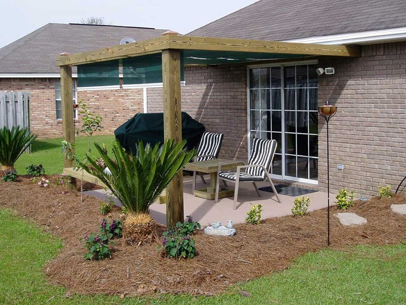 Image of: Canopies for Decks Design