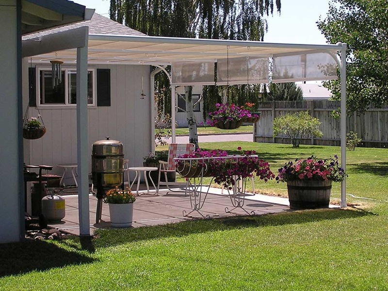 Image of: Canopies for Decks Ideas