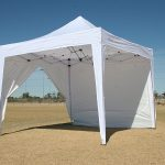 Canopy Tent with Sides Size