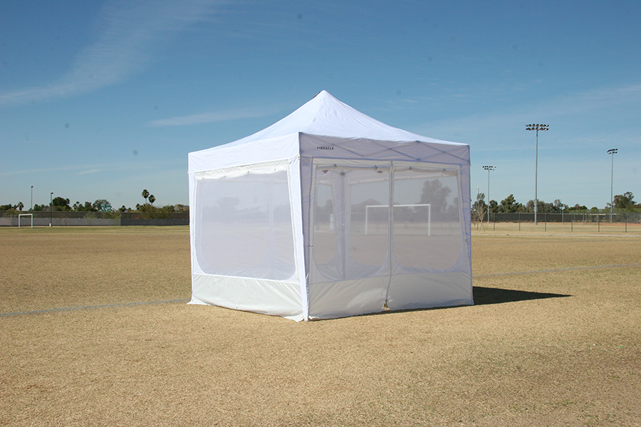 Image of: Canopy Tent with Sides Small