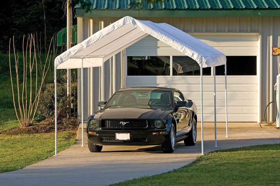 Image of: Carport Canopy Ideas