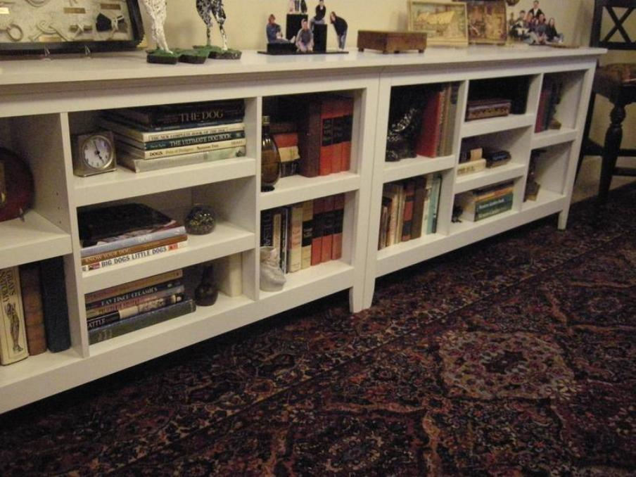 Image of: Carson horizontal bookcase assembly instructions