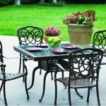 Cast Iron Patio Furniture Dining Sets