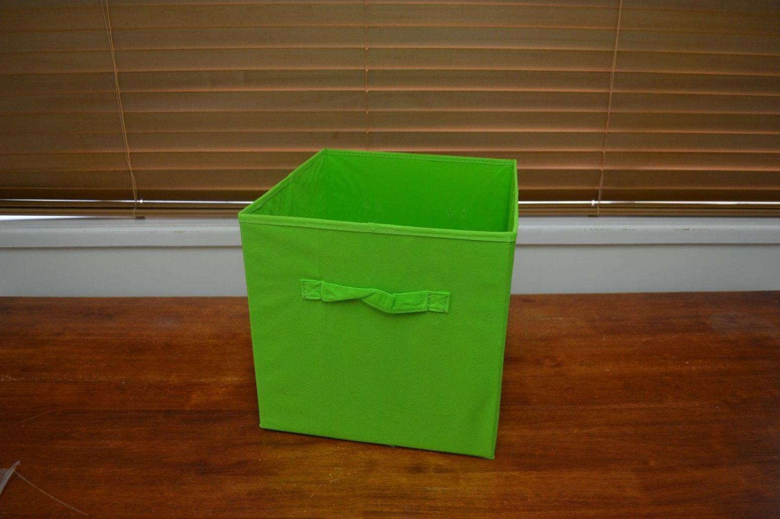 Image of: Cheap Fabric Storage Cubes