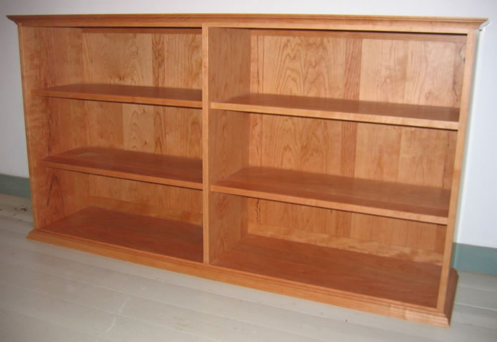 Image of: Cherry wood child bookcase