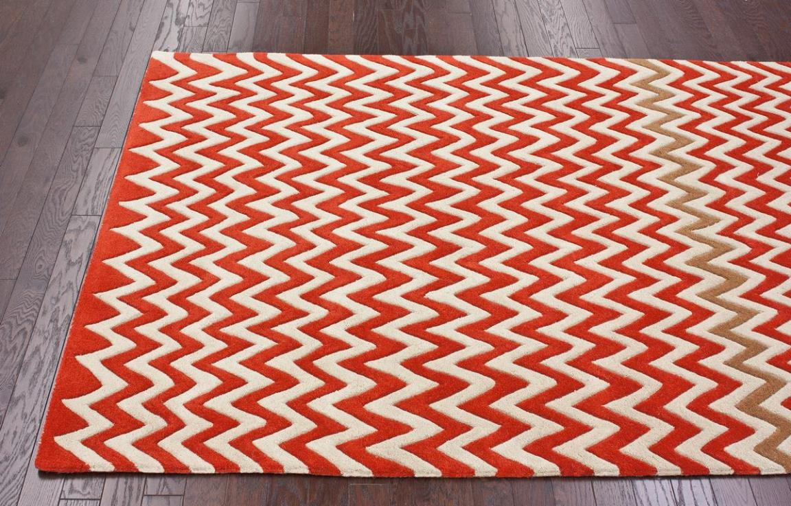 Image of: Chevron Print Area Rugs