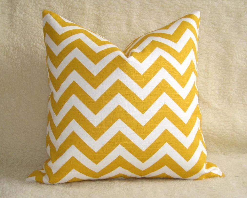 Image of: Chevron Toss Pillow