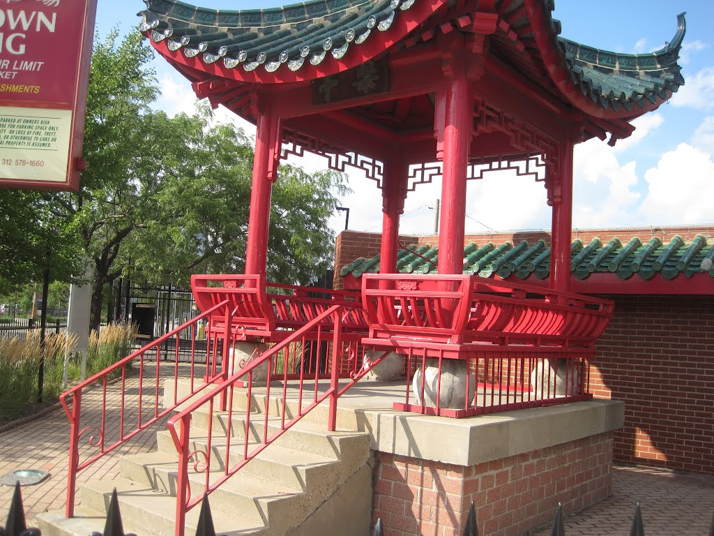 Chinese Gazebo Colors