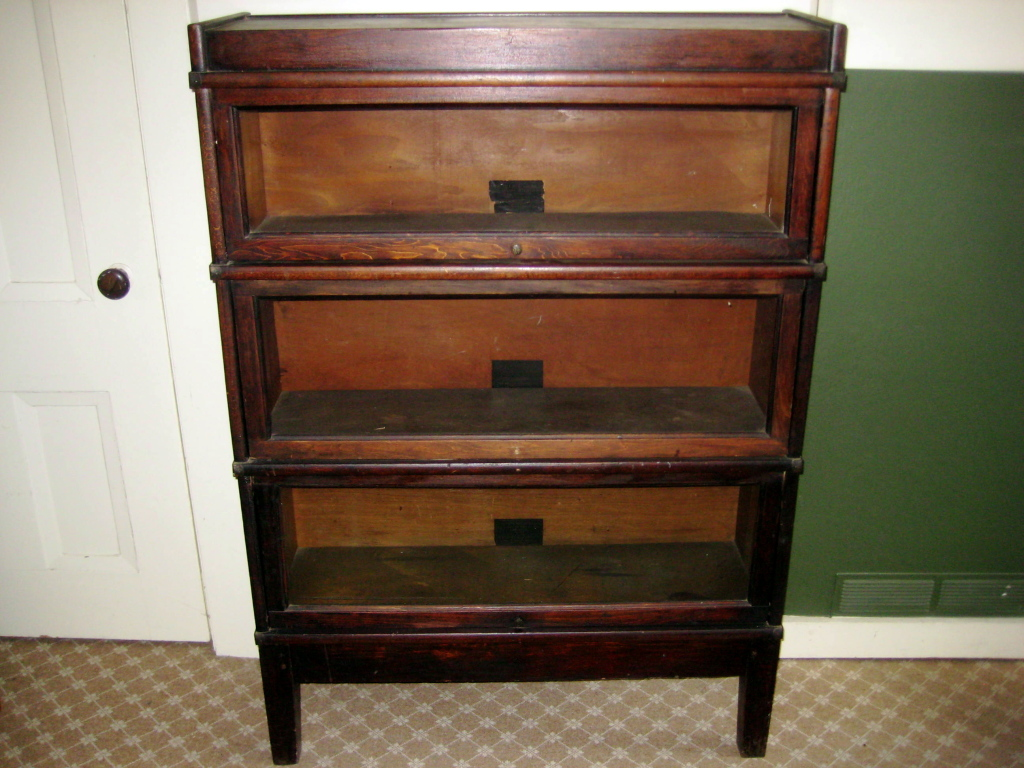 Image of: Classic Barrister Bookcase