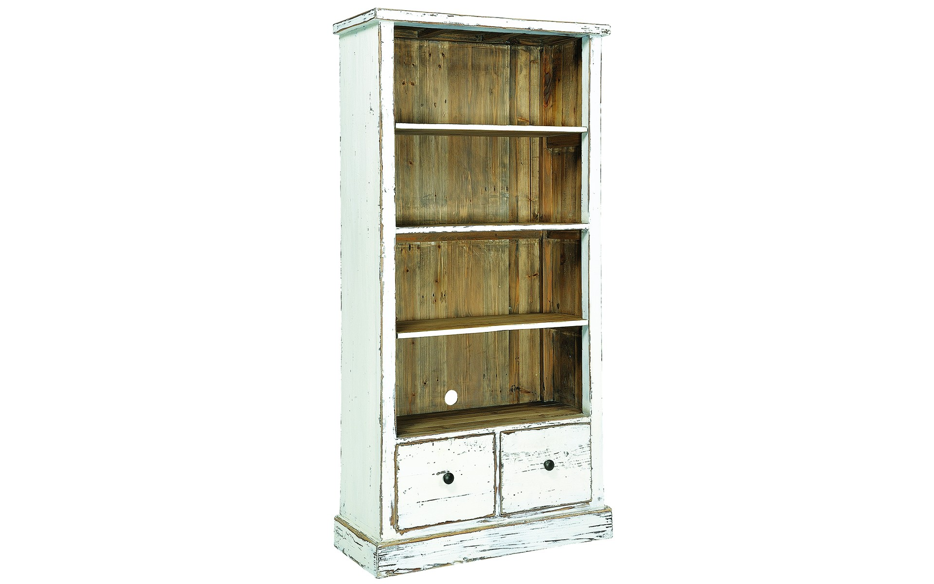 Image of: Classic Distressed Bookcase