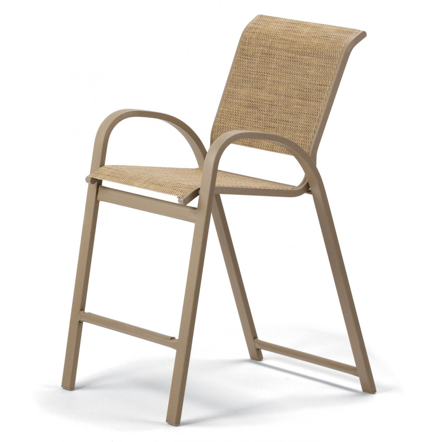Image of: Classic Sling Patio Chairs