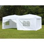 Colored Canopy Tent with Sides