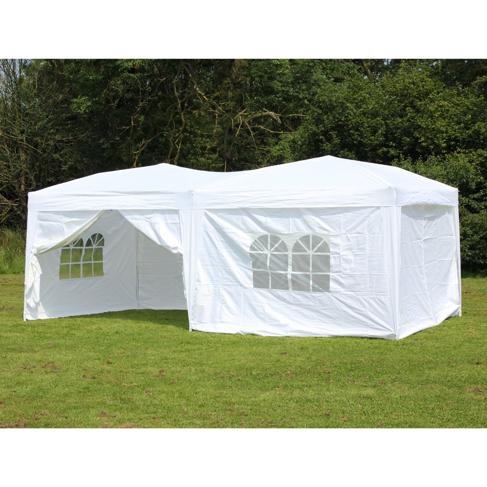Image of: Colored Canopy Tent with Sides