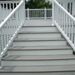 Composite Deck Stairs Modern