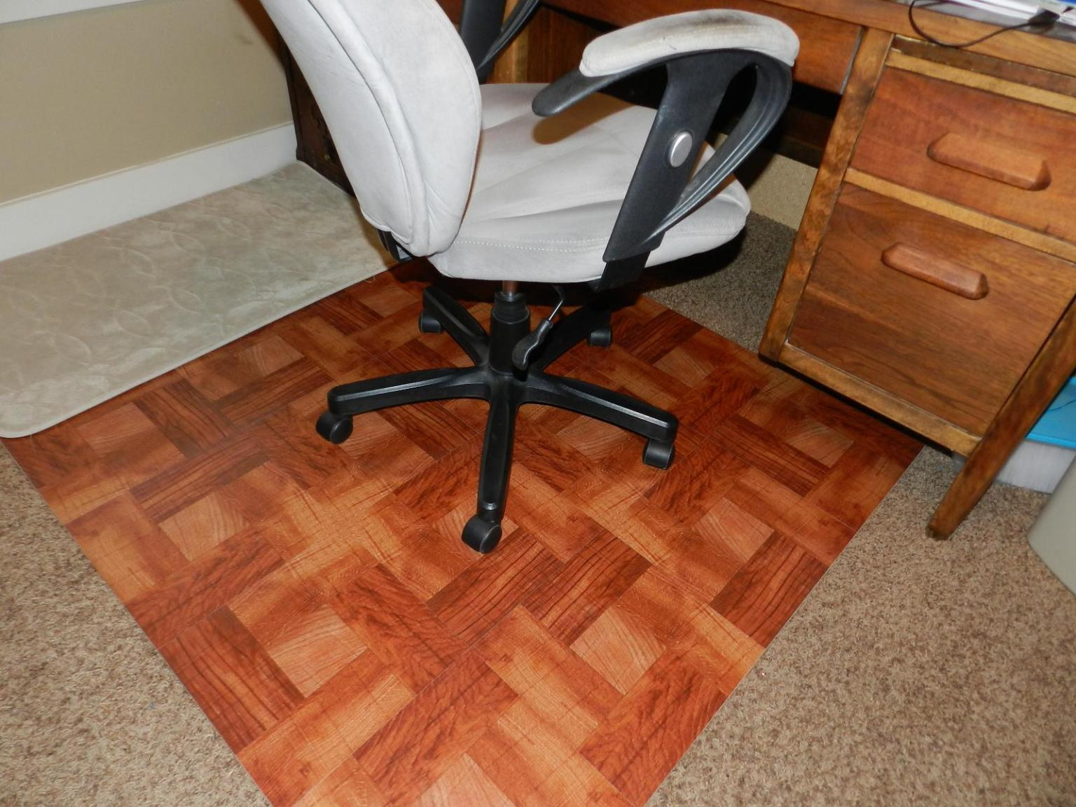 Image of: Computer Chair Mat For High Pile Carpet